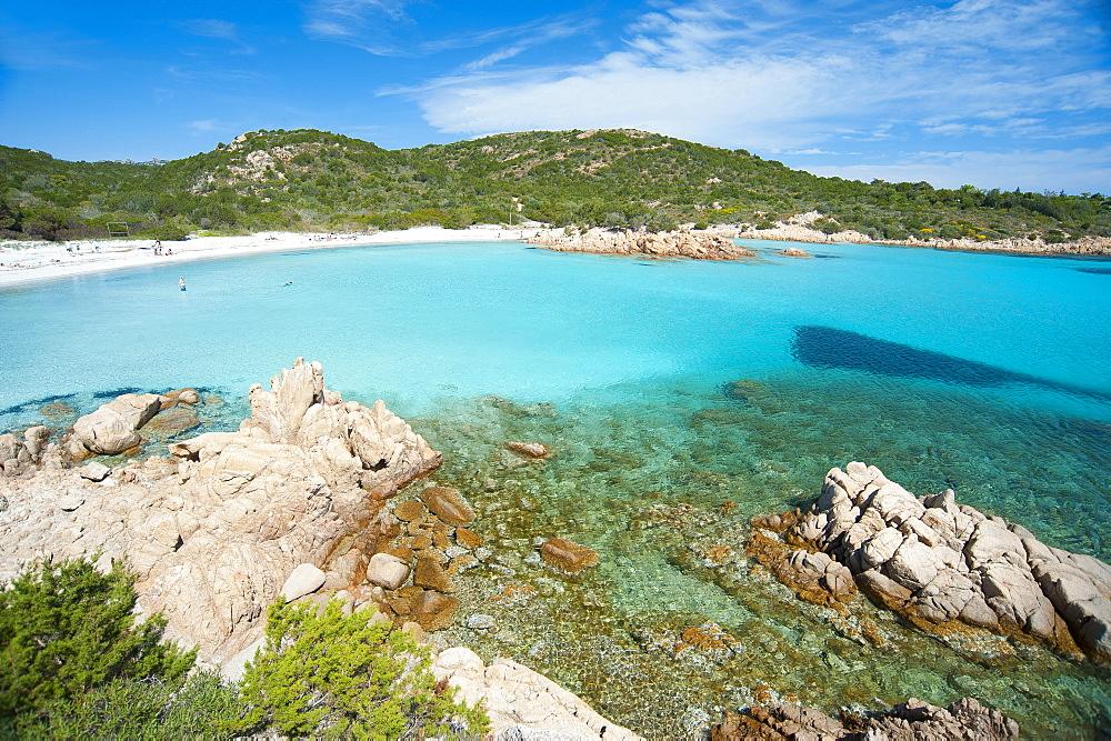 Spiaggia del Principe beach, Costa Smeralda, Arzachena, Sardinia, Italy, Europe - 746-88488