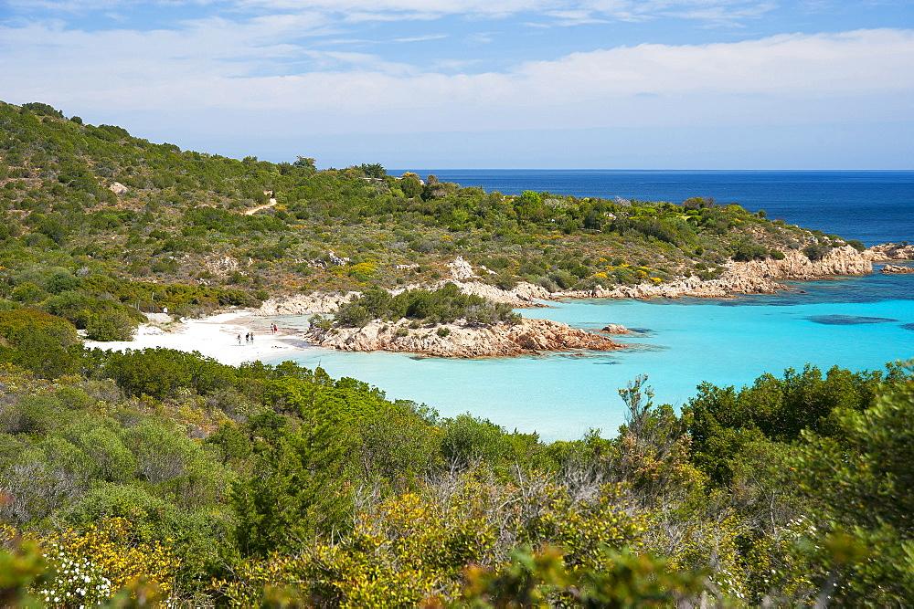 Spiaggia del Principe beach, Costa Smeralda, Arzachena, Sardinia, Italy, Europe - 746-88490
