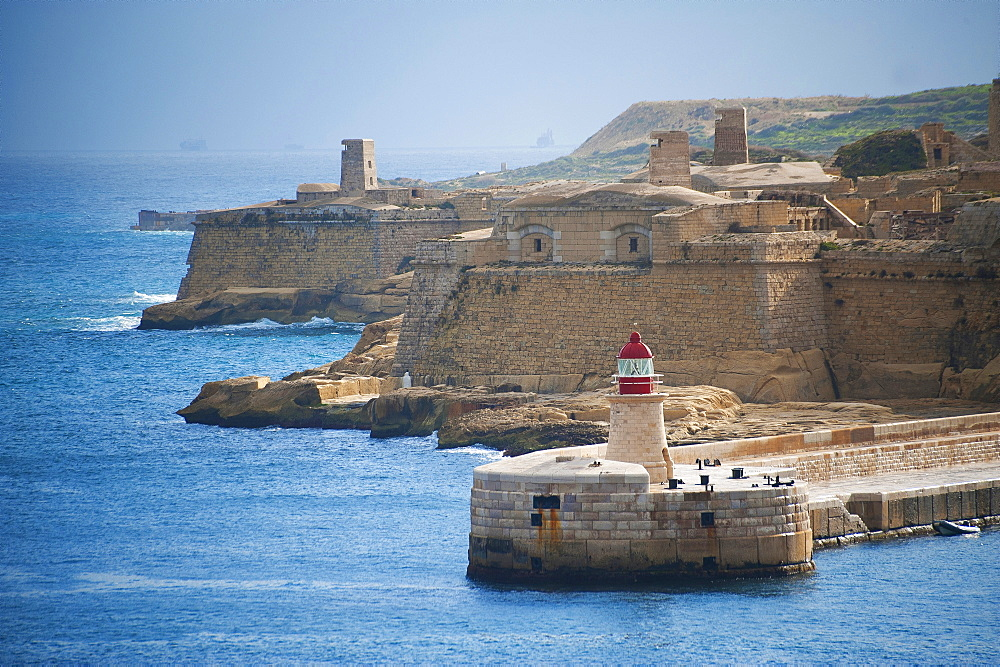 Fort Ricasoli, Calcara (Il-Kalkara), Malta Island, Mediterranean Sea, Europe - 746-88493