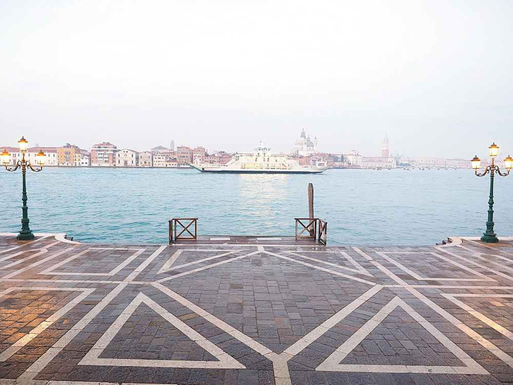 Fondamenta Zattere view from Giudecca island, Venice, Veneto, Italy, Europe - 746-88496