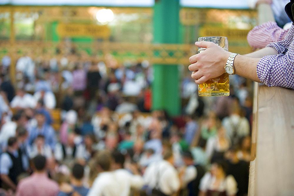 Oktoberfest, traditional german beer festival, Munich, Baviera, Germany, Europe - 746-88682