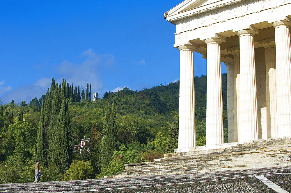 Antonio Canova Temple, Possagno, Veneto, Italy, Europe