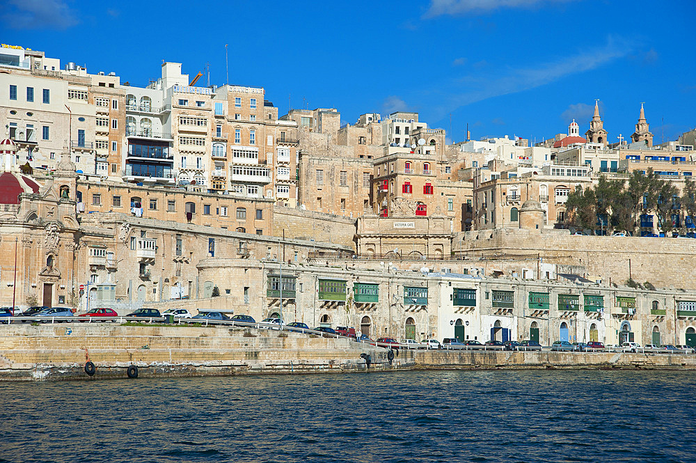 La Valletta, Capital of Culture 2018, Waterfront, Malta Island, Mediterranean Sea, Europe