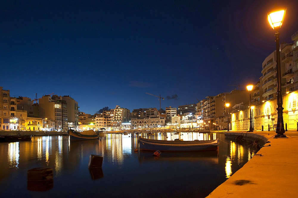 St. Julian (San Giljan) Bay, Malta Island, Mediterranean Sea, Europe