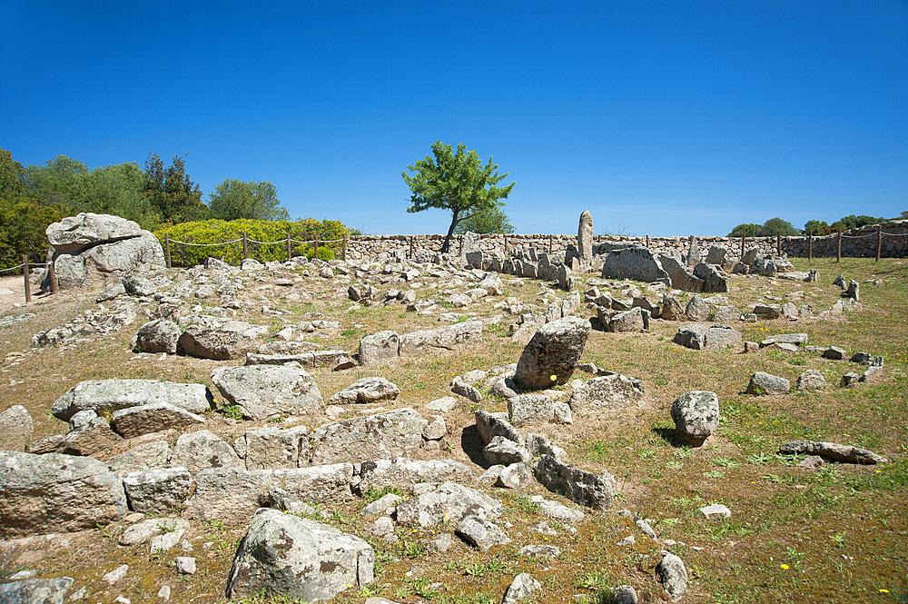 Necropoli Li Muri, Arzachena, Sardinia, Italy, Europe