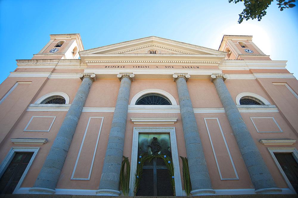Santa Maria della Neve church, Nuoro, Sardinia, Italy, Europe