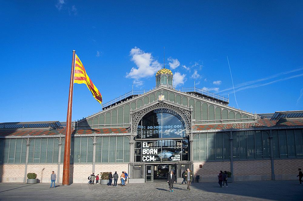 Mercat del Born, Barcelona, Catalonia, Spain, Europe