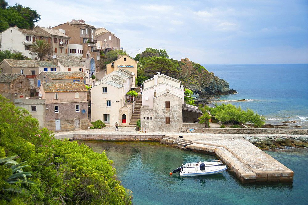 Marina di Porticciolo village, North Corsica, France, Europe