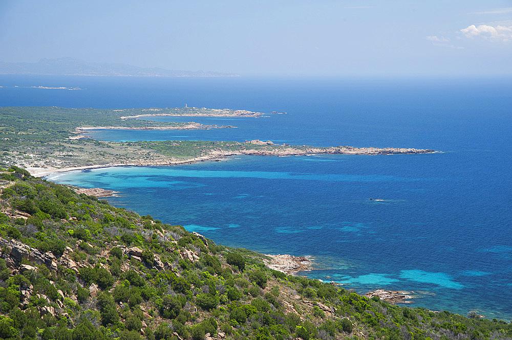 Pianottoli-Caldarello coast, Corsica, France, Europe