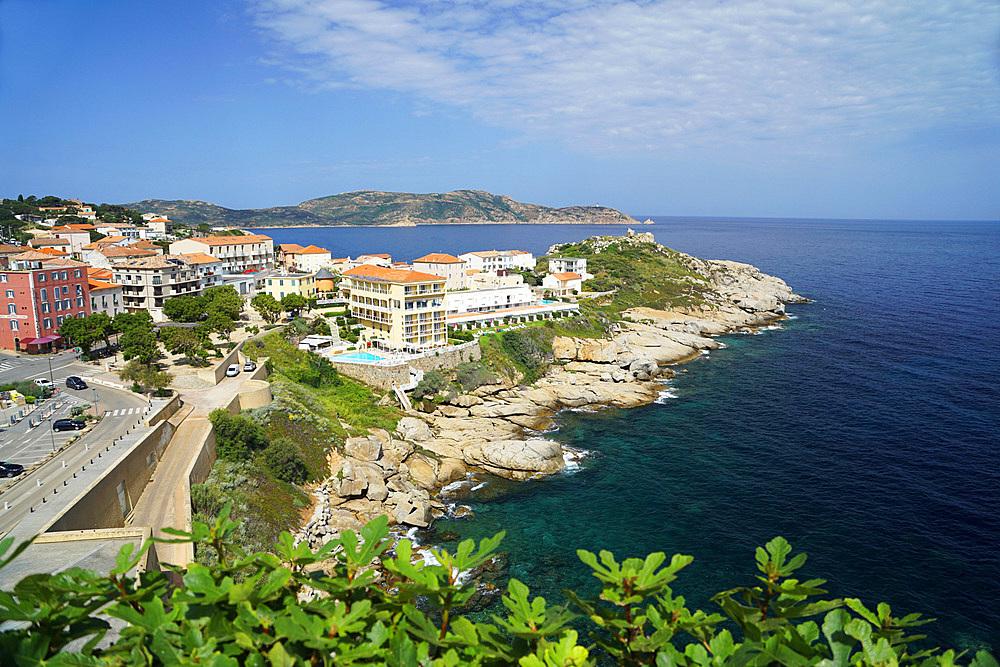 Cityscape, Calvì, Corse, France, Europe