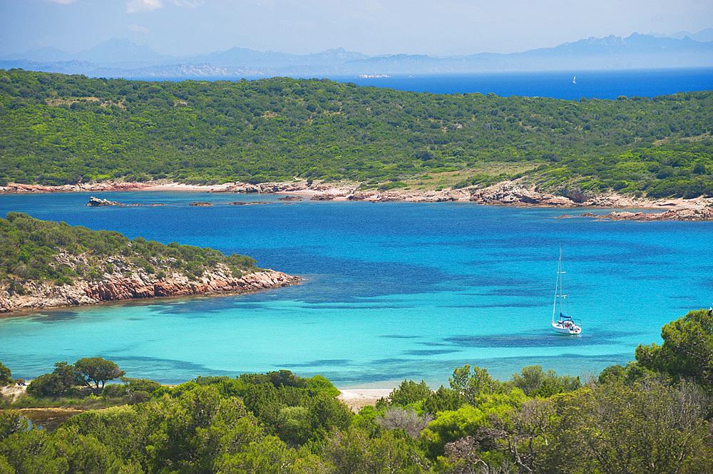 Rondinara bay, Corsica, France, Europe