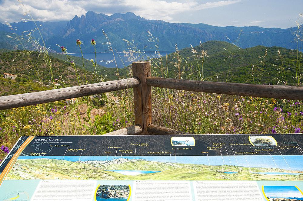 Bocca Croce, D81 road Porto to Piana, Corsica, France, Europe