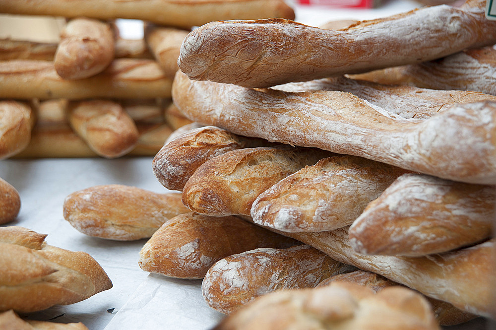 Baguettes, Ajaccio, Corsica, France, Europe