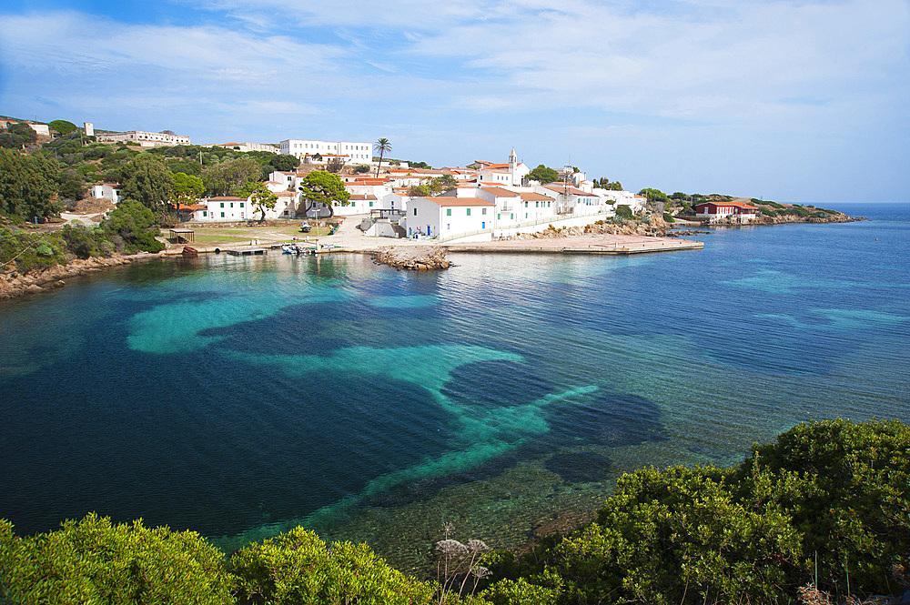 Cala D'Oliva, Asinara Island National Park, Porto Torres, North Sardinia, Italy, Europe