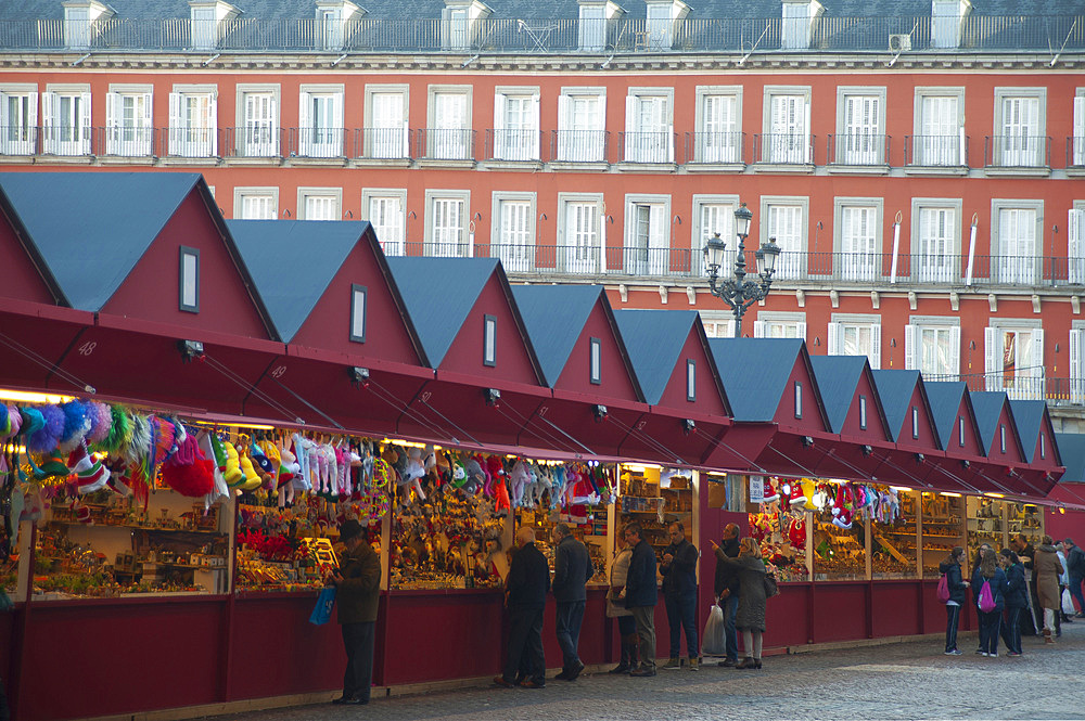 Plaza Major, Madrid, Spain, Europe