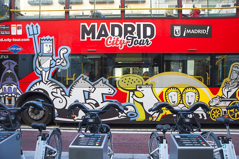 Porta del Sol, Madrid, Spain, Europe