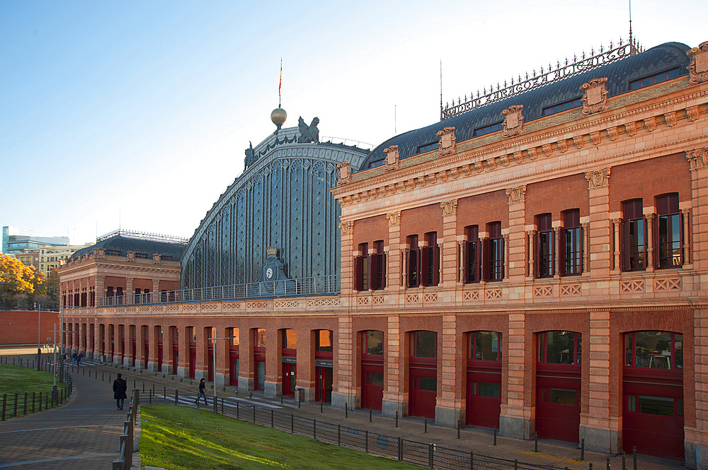 Railway station Atocha, Madrid, Spain, Europe