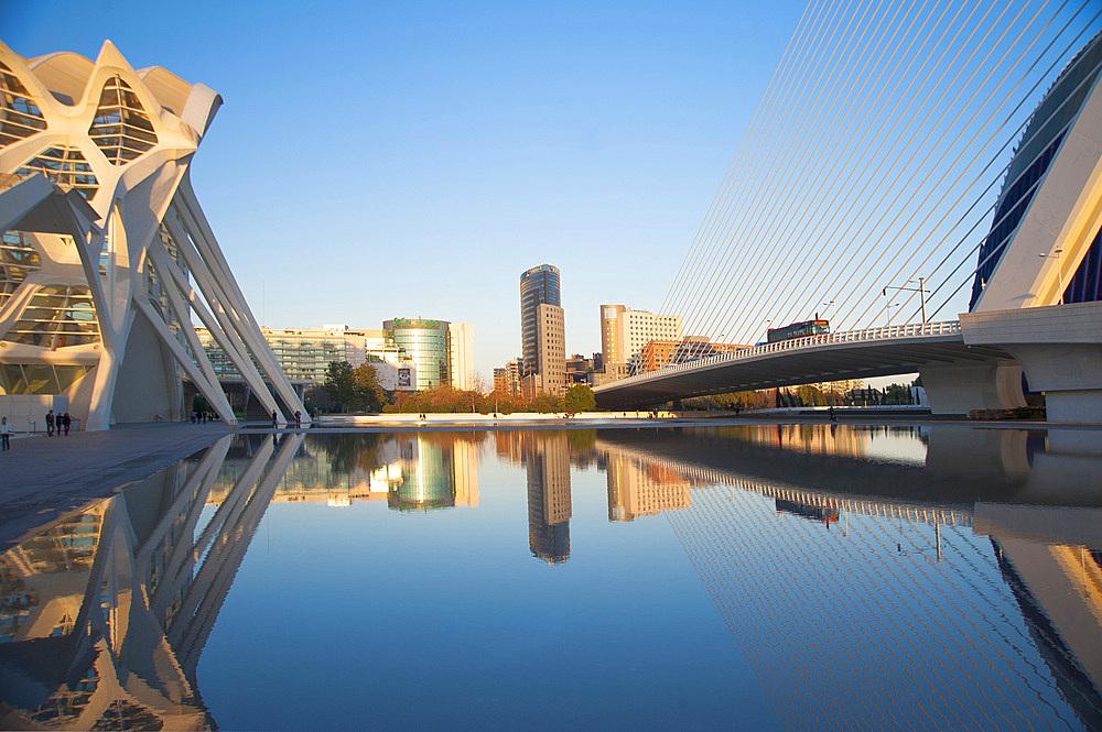 Ciutat de les Arts i les Ciències, Valencia, Spain, Europe