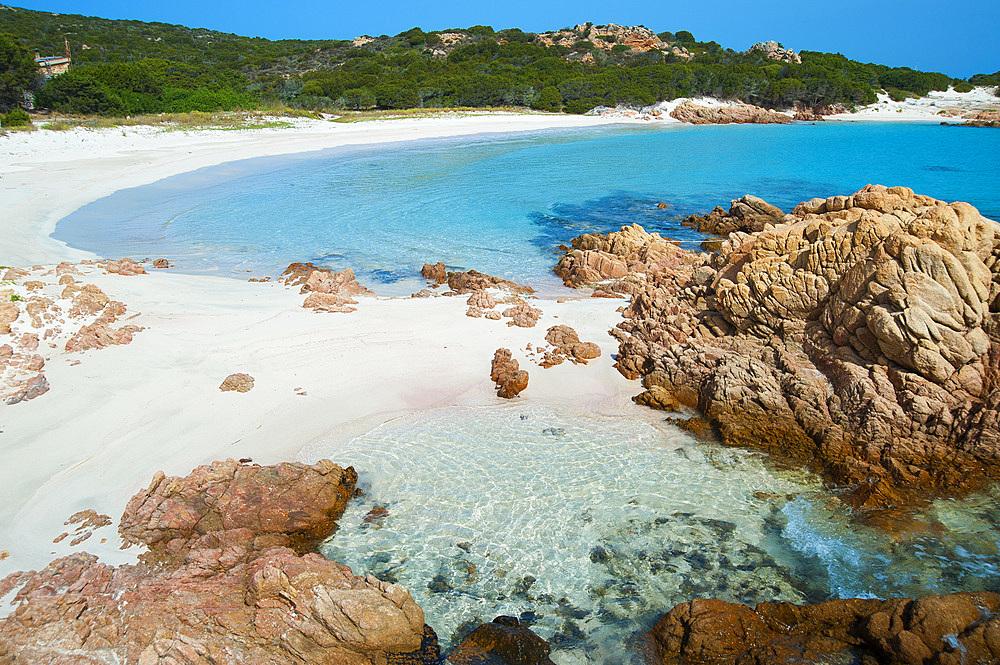 Cala di Roto or Spiaggia Rosa, Budelli Island, Archipelago of La Maddalena, Sardinia, Italy, Europe