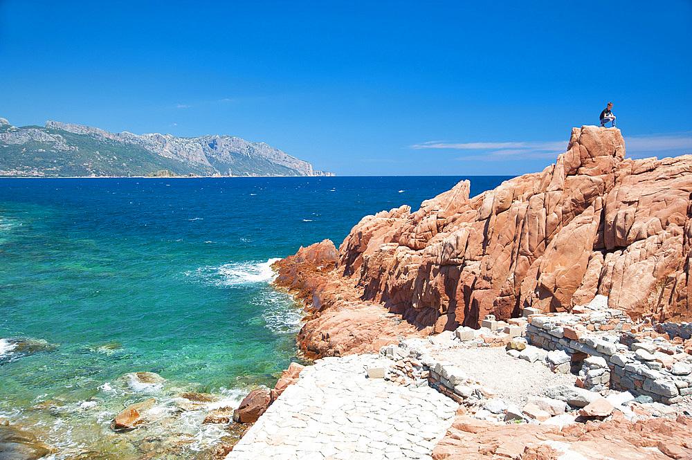 Rocce Rosse (Red Rocks), Arbatax, Tortolì, Sardinia, Italy, Europe