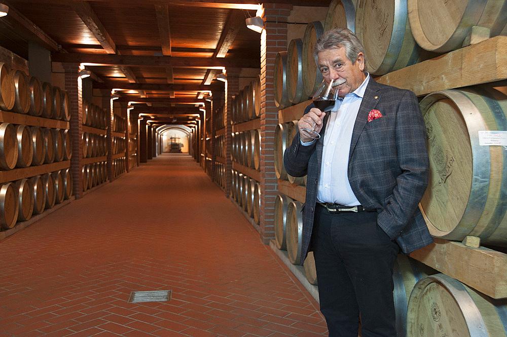 Raffaele Cani, Direttore Commerciale Cantina di Santadi, Santadi, Sardinia, Italy, Europe