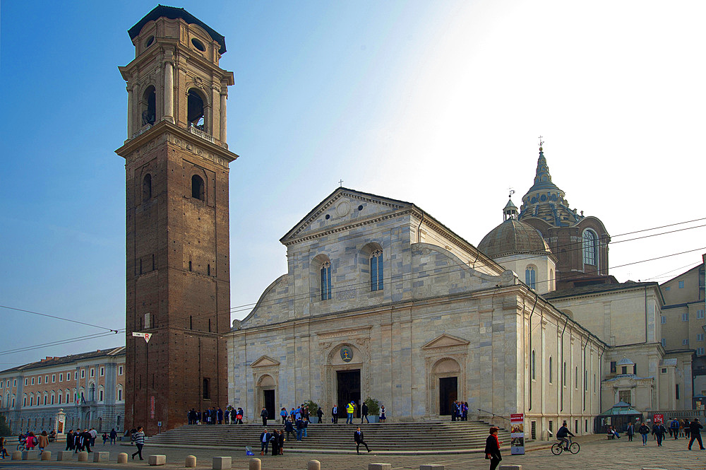 Cattedrale Metropolitana di S. Giovanni Battista, historic city center, Turin, Piedmont, Italy, Europe