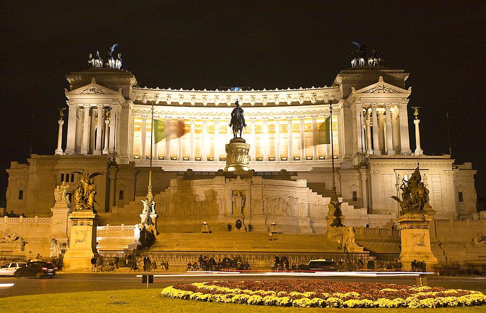 Altare della Patria monument, Rome, Lazio, Italy, Europe.