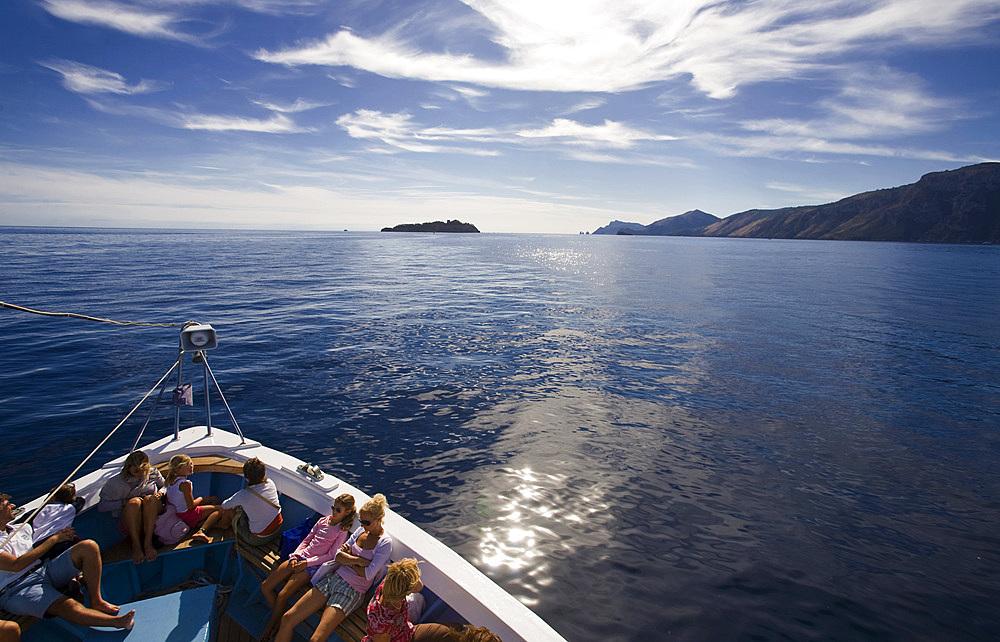 Li Galli island, Campania, Italy, Europe