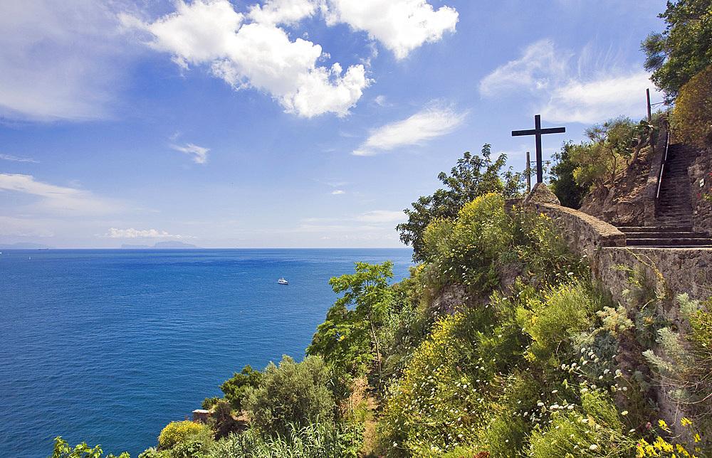 Aragonese castle, Ischia island, Naples, Campania, Italy, Europe.