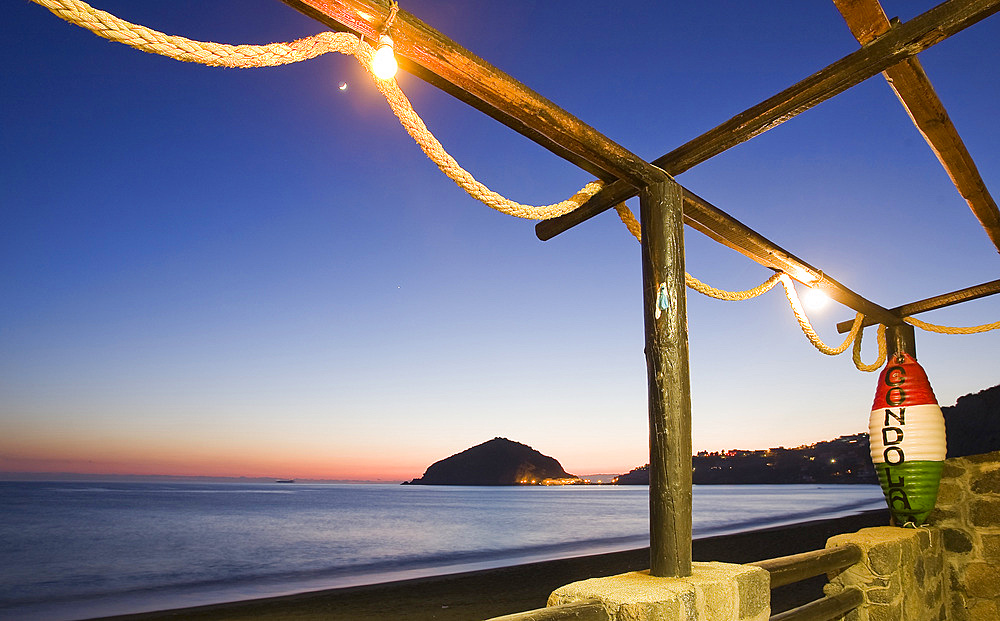Maronti beach, Barano d'Ischia, Ischia island, Naples, Campania, Italy, Europe