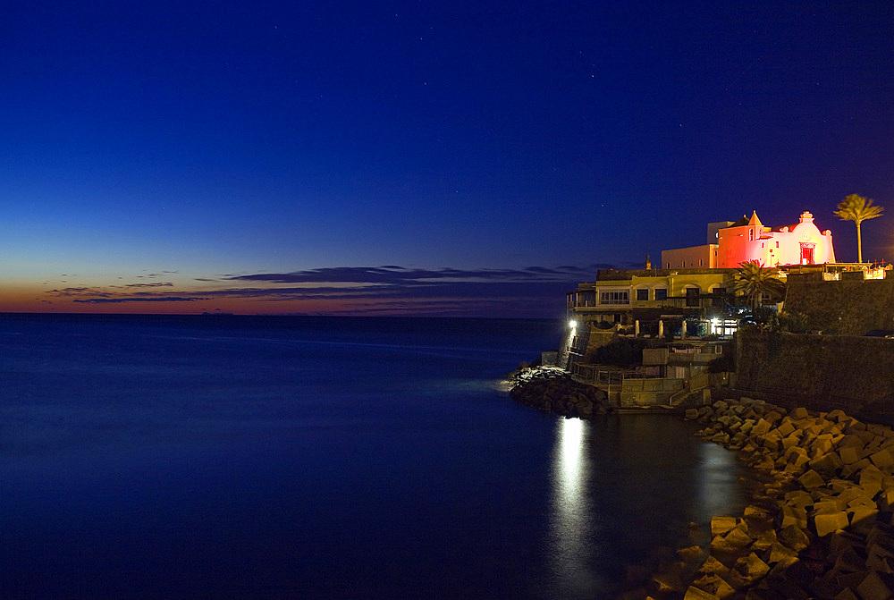 Soccorso church, Forio, Ischia island, naples, Campania, Italy, Europe.
