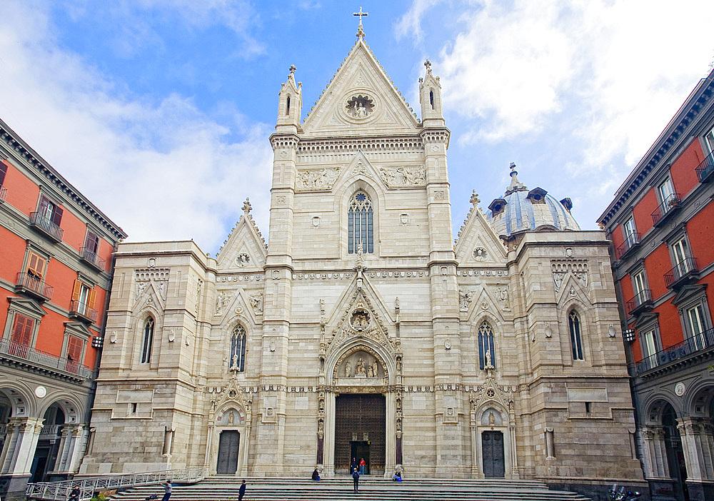Naples Dome, Naples, Campania, Italy, Europe