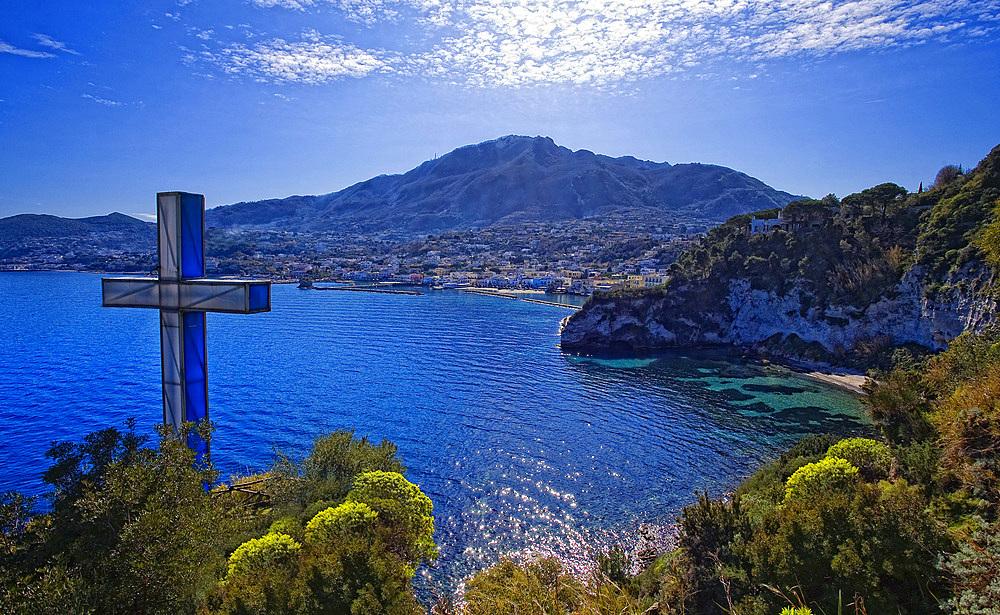 Monache bay, Lacco Ameno, Ischia, Campania, Italy, Europe