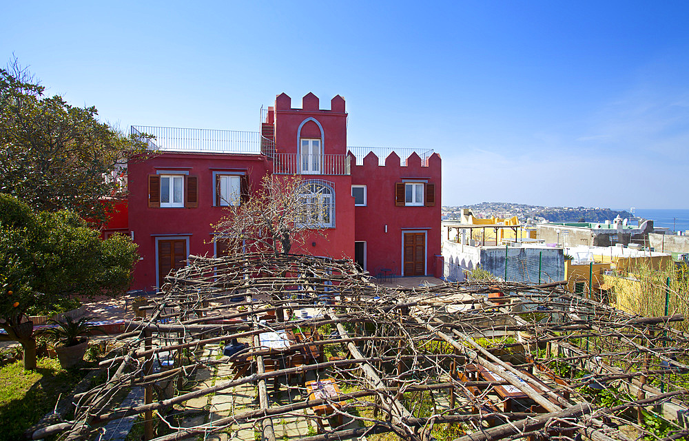 Hotel La Vigna; Procida island; Campania; Italy; Europe