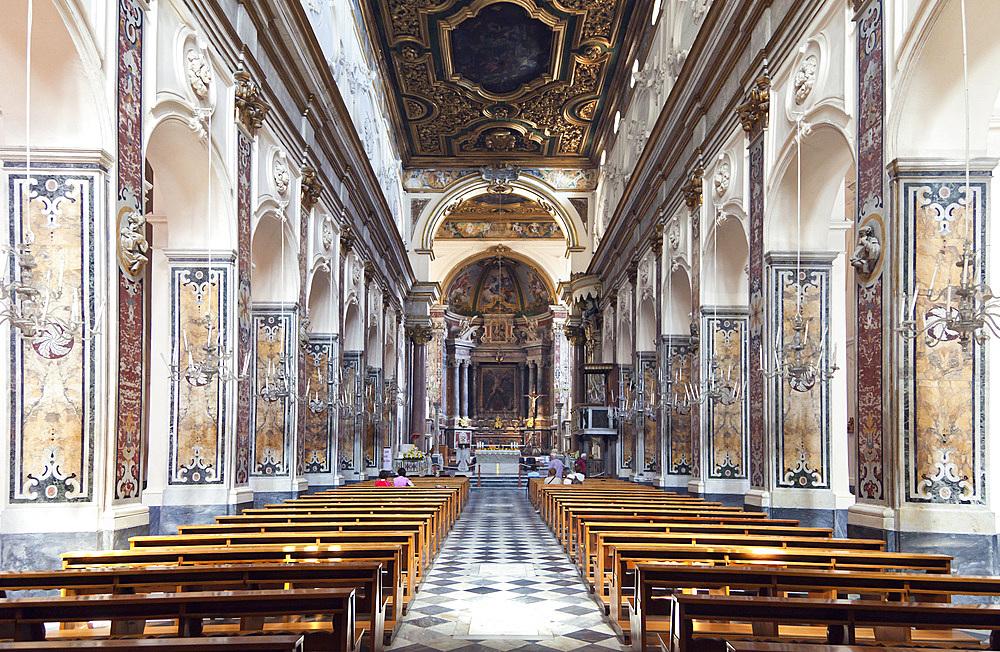 Amalfi Dom, Amalfi, Salerno, Campania, Italy, Europe