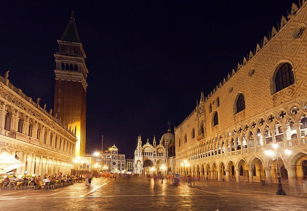 St.Mark's square, Venice, Veneto, Italy, Europe.