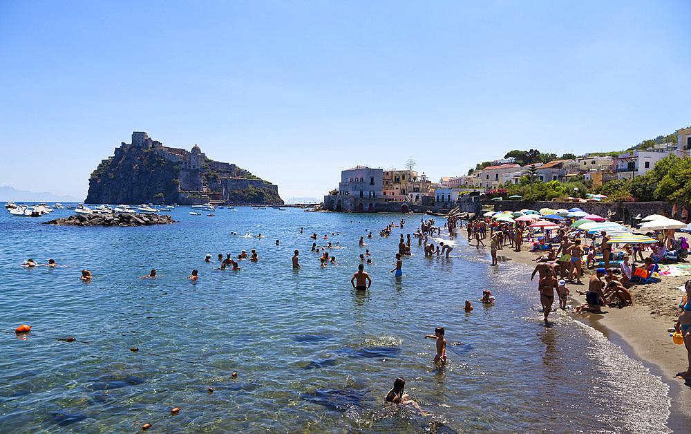 Ischia island, Naples, campania, Italy, Europe.