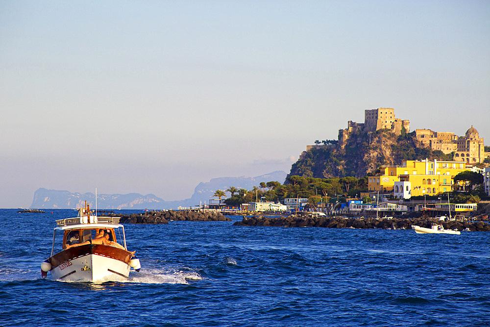 Ischia Porto, Ischia island, Campania, Italy, Europe