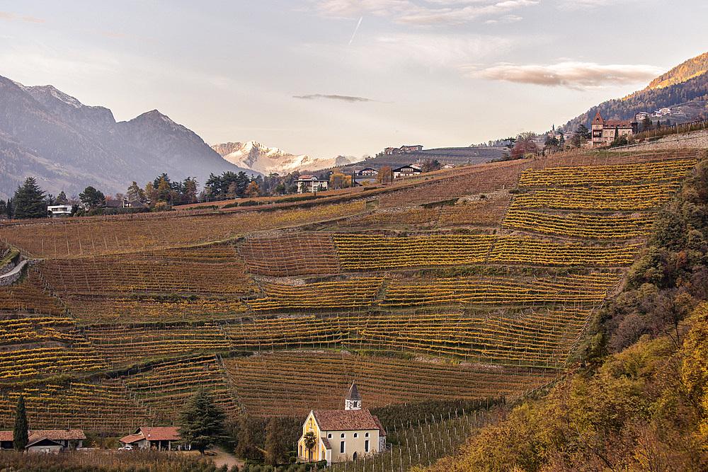 St.Valentin, Merano, Trentino Alto adige, Italy.