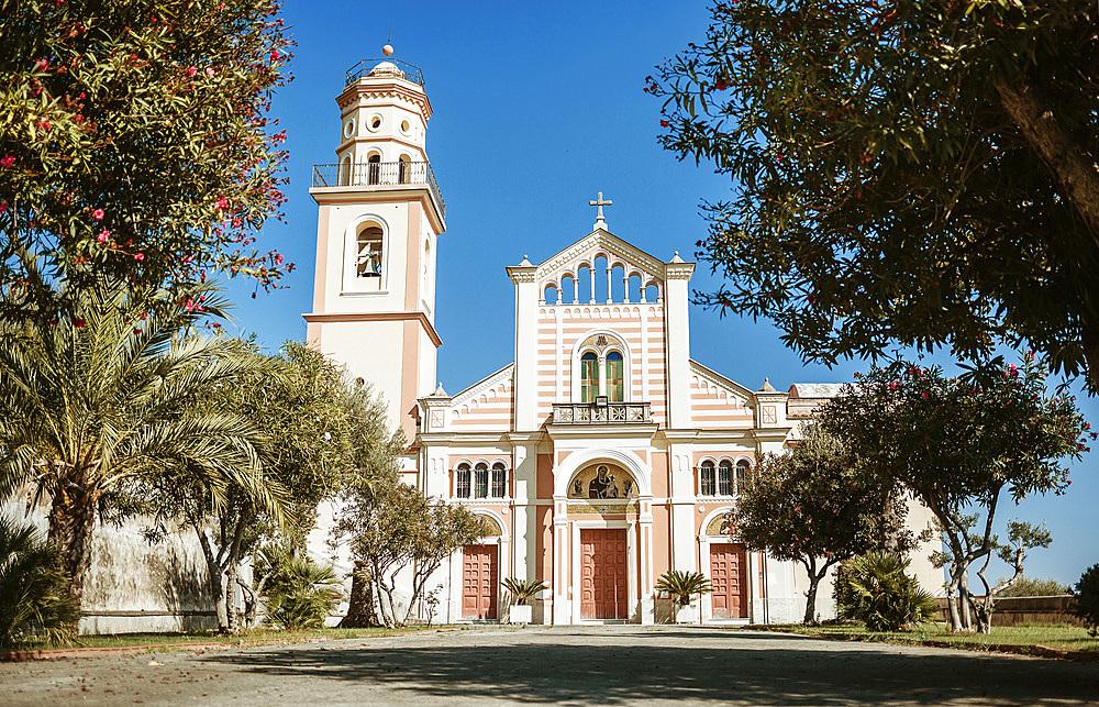 Chiesa di San Pancrazio Martire church, Conca dei Marini, Amalfi Coast, Campania, Italy, Europe