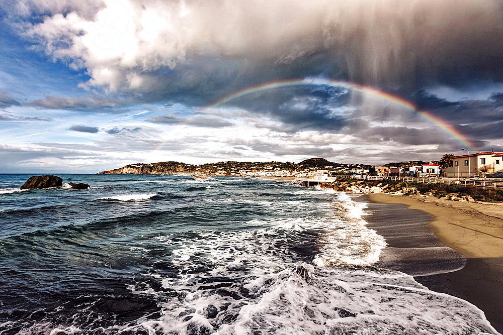 Rainbow, Ischia Island, Campania, Italy, Europe