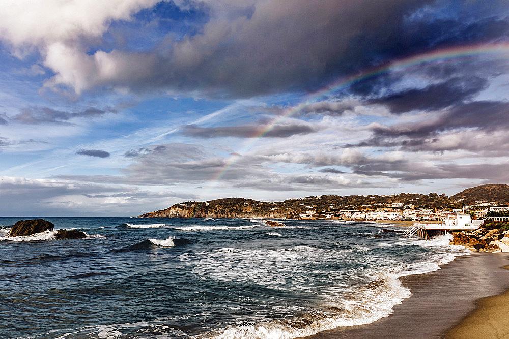 Rainbow, Ischia, Campania, Italy, Europe