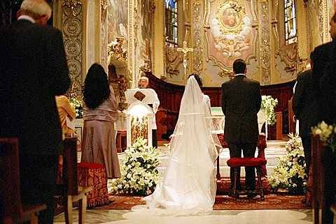 Wedding ceremony, Italy