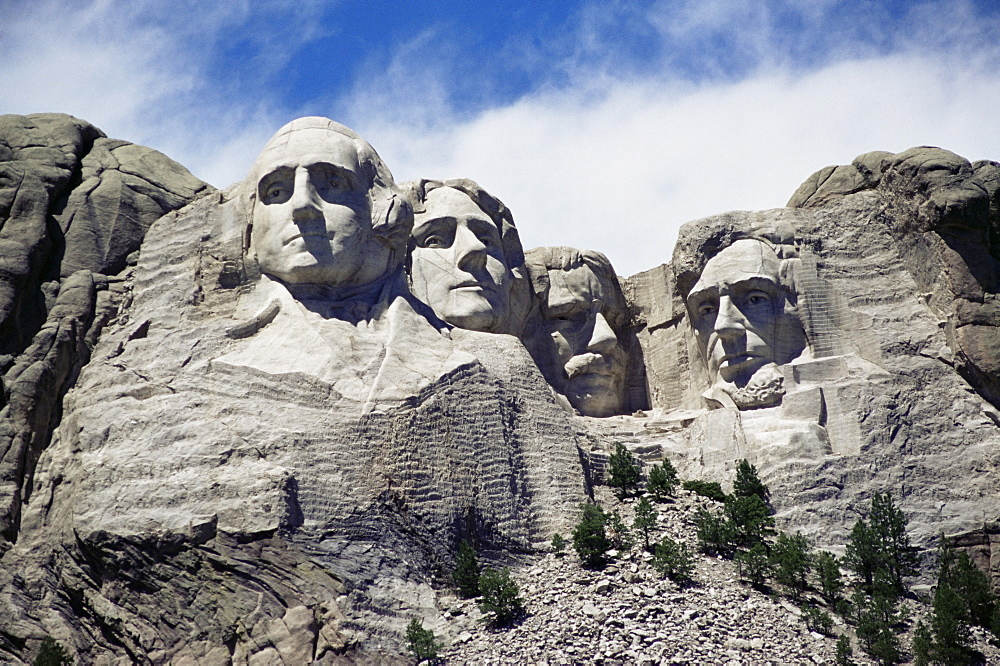 Mount Rushmore National Monument, Black Hills, South Dakota, United States of America, North America - 747-137