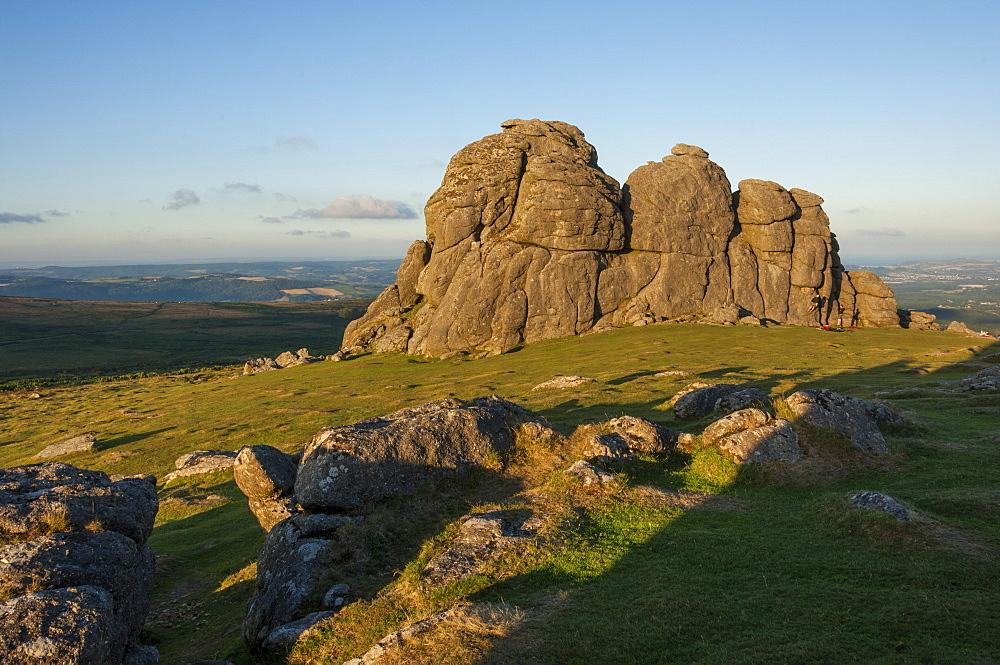 Haytor Rocks, Dartmoor National Park, Devon, England, United Kingdom, Europe