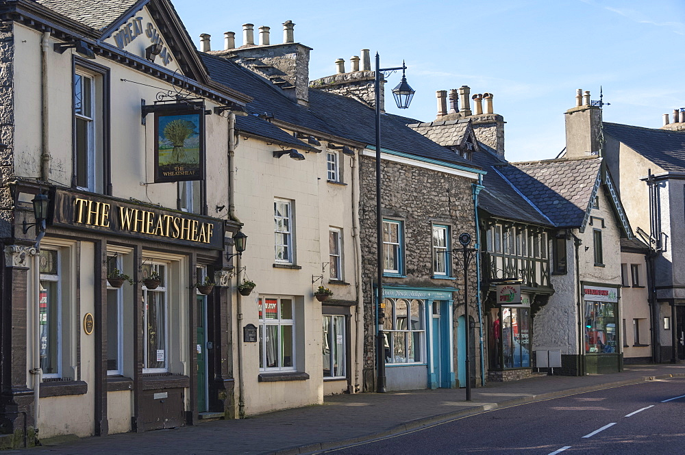 Kirkland area in old Kendal, South Lakeland, Cumbria, England, United Kingdom, Europe