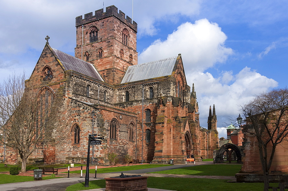Cathedral Church of the Holy and Undivided Trinity, Carlisle, Cumbria, England, United Kingdom, Europe