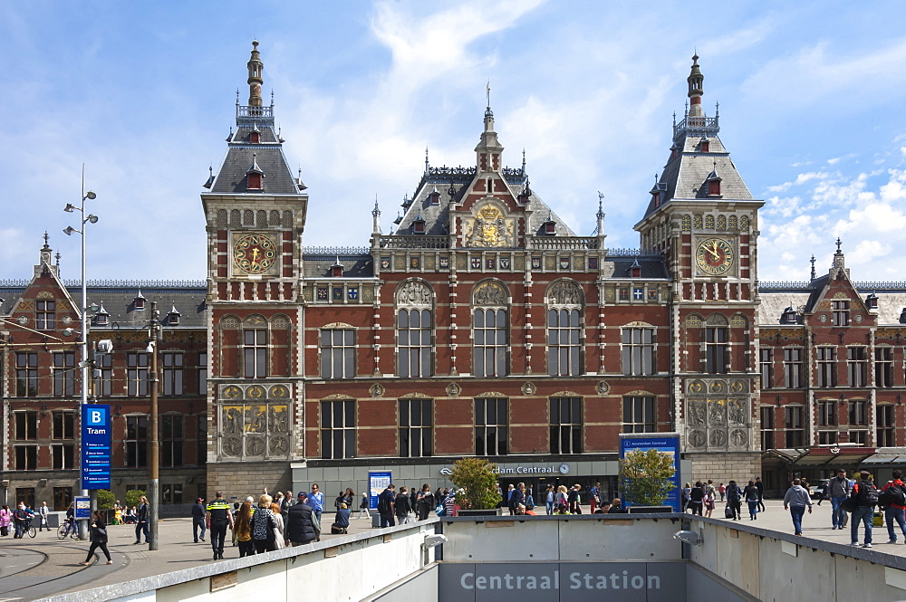 Central Station, Amsterdam, The Netherlands, Europe