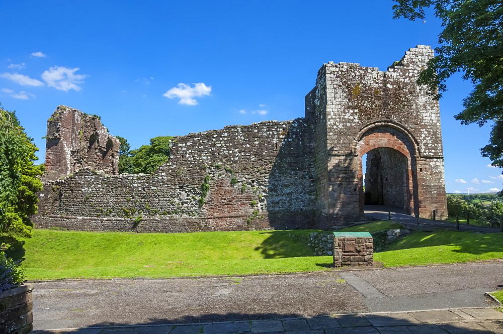Egremont Castle, West Cumberland, Cumbria, England, United Kingdom, Europe