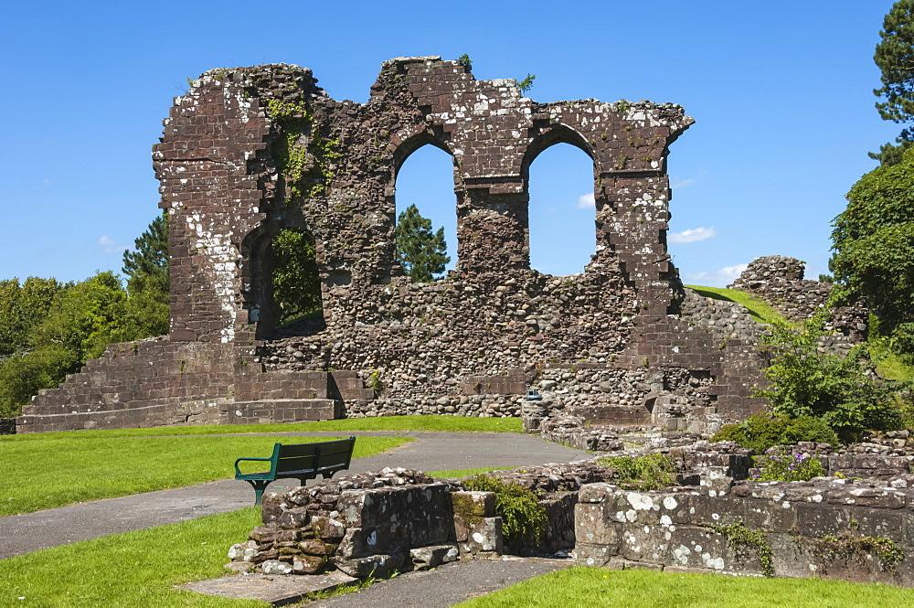 The 12th century Egremont Castle, West Cumberland, Cumbria, England, United Kingdom, Europe